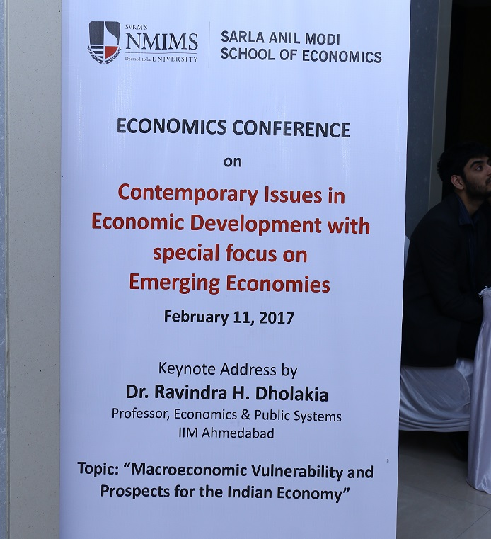 First Annual Economics Conference